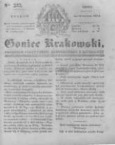 Goniec Krakowski: dziennik polityczny, historyczny i literacki. 1831.09.28 nr232