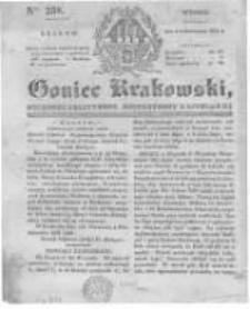 Goniec Krakowski: dziennik polityczny, historyczny i literacki. 1831.10.04 nr238