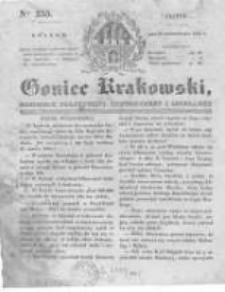 Goniec Krakowski: dziennik polityczny, historyczny i literacki. 1831.10.21 nr255