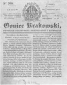 Goniec Krakowski: dziennik polityczny, historyczny i literacki. 1831.10.26 nr260