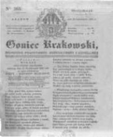 Goniec Krakowski: dziennik polityczny, historyczny i literacki. 1831.10.31 nr265