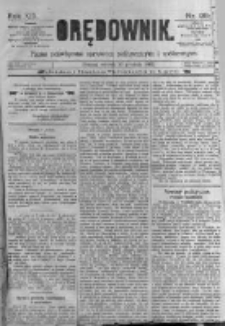 Orędownik: pismo poświęcone sprawom politycznym i spółecznym. 1889.12.10 R.19 nr284