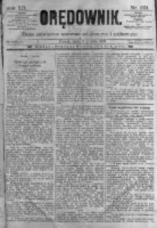 Orędownik: pismo poświęcone sprawom politycznym i spółecznym. 1889.12.18 R.19 nr291