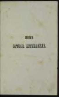 Nowe studja literackie. T. 1