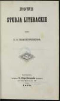 Nowe studja literackie. T. 2