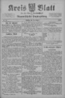 Kreis Blatt für den Kreis Neutomischeler zugleich Hopfenzeitung 1902.10.28 Nr84