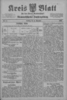 Kreis Blatt für den Kreis Neutomischeler zugleich Hopfenzeitung 1902.11.11 Nr88