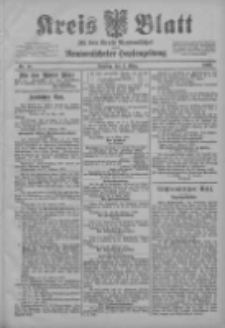 Kreis Blatt für den Kreis Neutomischeler zugleich Hopfenzeitung 1903.03.03 Jg.22 Nr18