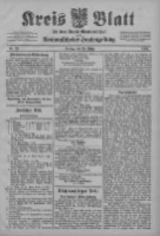 Kreis Blatt für den Kreis Neutomischeler zugleich Hopfenzeitung 1903.03.20 Jg.22 Nr23