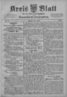 Kreis Blatt für den Kreis Neutomischeler zugleich Hopfenzeitung 1903.04.07 Jg.22 Nr28
