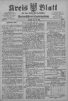 Kreis Blatt für den Kreis Neutomischeler zugleich Hopfenzeitung 1903.05.29 Jg.22 Nr42
