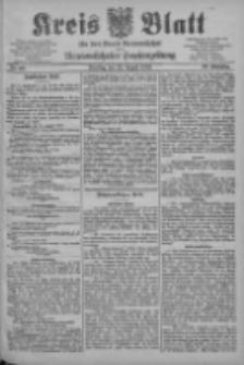 Kreis Blatt für den Kreis Neutomischeler zugleich Hopfenzeitung 1903.08.25 Jg.22 Nr66