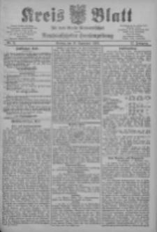 Kreis Blatt für den Kreis Neutomischeler zugleich Hopfenzeitung 1903.09.11 Jg.22 Nr71