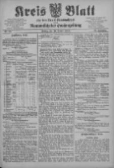 Kreis Blatt für den Kreis Neutomischeler zugleich Hopfenzeitung 1903.10.30 Jg.22 Nr85