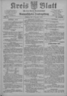 Kreis Blatt für den Kreis Neutomischeler zugleich Hopfenzeitung 1903.12.01 Jg.22 Nr94
