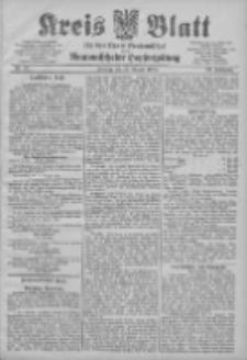Kreis Blatt für den Kreis Neutomischeler zugleich Hopfenzeitung 1904.08.19 Jg.23 Nr67