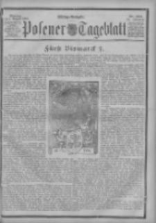 Posener Tageblatt 1898.08.01 Jg.37 Nr354