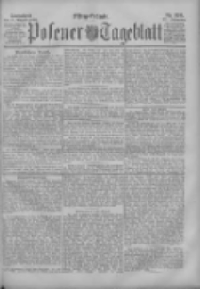 Posener Tageblatt 1898.08.13 Jg.37 Nr376