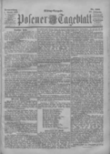 Posener Tageblatt 1901.08.01 Jg.40 Nr356
