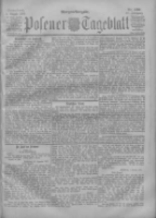 Posener Tageblatt 1901.08.03 Jg.40 Nr359