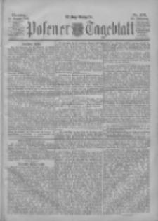 Posener Tageblatt 1901.08.13 Jg.40 Nr376