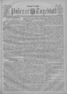 Posener Tageblatt 1901.08.14 Jg.40 Nr377