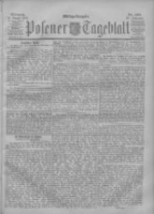 Posener Tageblatt 1901.08.14 Jg.40 Nr378