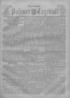 Posener Tageblatt 1901.08.22 Jg.40 Nr391