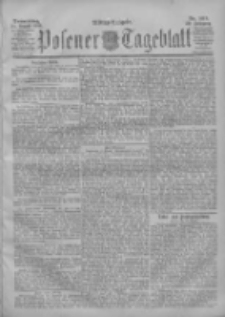 Posener Tageblatt 1901.08.22 Jg.40 Nr392