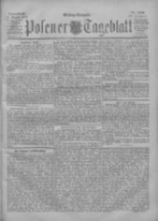 Posener Tageblatt 1901.08.24 Jg.40 Nr396