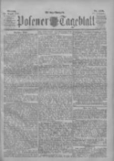 Posener Tageblatt 1901.08.26 Jg.40 Nr398