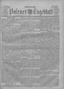 Posener Tageblatt 1901.08.27 Jg.40 Nr400