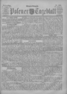 Posener Tageblatt 1901.08.29 Jg.40 Nr403