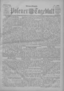 Posener Tageblatt 1901.10.03 Jg.40 Nr463