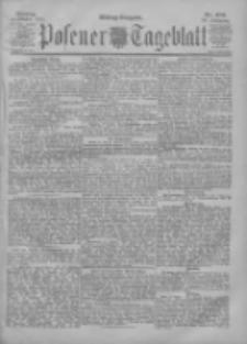 Posener Tageblatt 1901.10.14 Jg.40 Nr482