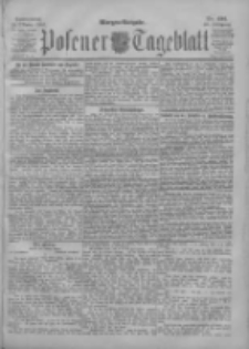 Posener Tageblatt 1901.10.19 Jg.40 Nr491