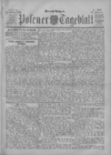 Posener Tageblatt 1901.10.22 Jg.40 Nr495