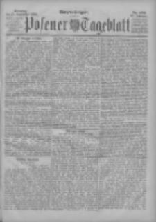 Posener Tageblatt 1898.09.25 Jg.37 Nr450