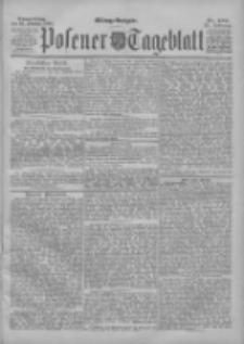 Posener Tageblatt 1898.10.20 Jg.37 Nr493