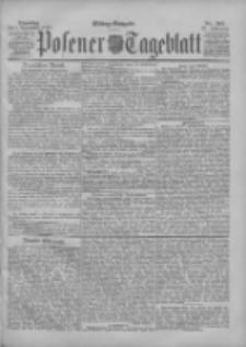 Posener Tageblatt 1898.11.01 Jg.37 Nr513