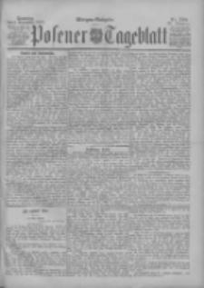 Posener Tageblatt 1898.11.06 Jg.37 Nr522