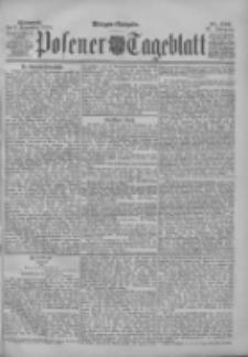 Posener Tageblatt 1898.11.09 Jg.37 Nr526