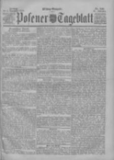 Posener Tageblatt 1898.11.11 Jg.37 Nr531