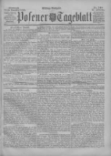 Posener Tageblatt 1898.11.23 Jg.37 Nr549