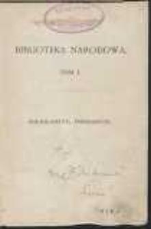 Emissarjusz: wspomnienie z roku 1838 przez B. Bolesławitę
