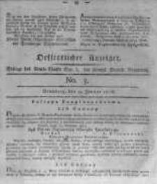 Oeffentlicher Anzeiger. 1816.01.19 No.3