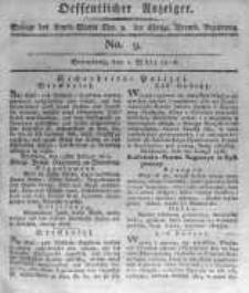 Oeffentlicher Anzeiger. 1816.03.01 No.9