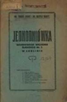 Jednodniówka wojskowego więzienia śledczego Nr 2 w Lublinie