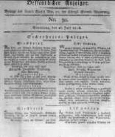 Oeffentlicher Anzeiger. 1816.07.26 No.30