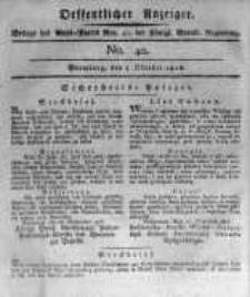 Oeffentlicher Anzeiger. 1816.10.04 No.40